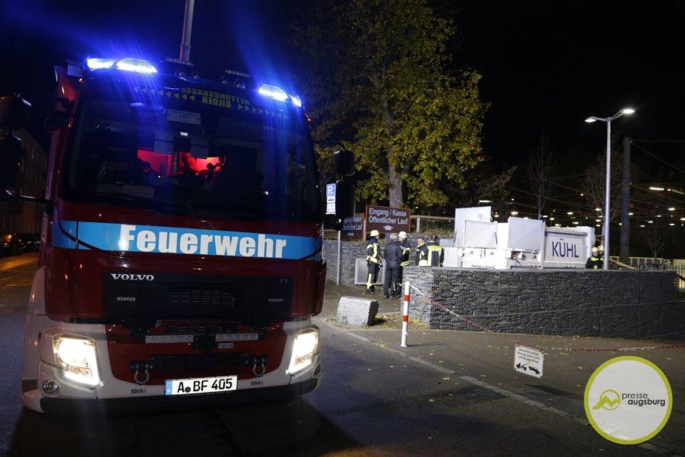 20191115223617__MG_5062_1.JPG Feuerwehreinsatz während Panther-Heimspiel am Curt-Frenzel-Stadion Augsburg Stadt Augsburger Panther News Polizei & Co Augsburg Brand CFS Curt-Frenzel-Stadion Feuerwehr |Presse Augsburg