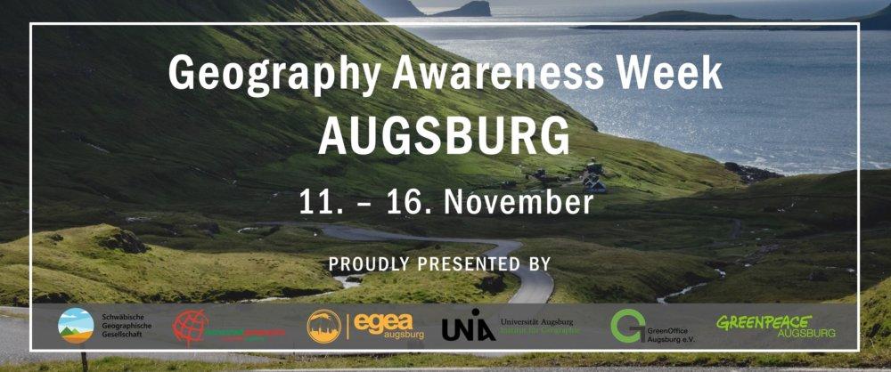 74584868_2841206612558751_5404114618480066560_o Was machen eigentlich Geograph*innen? Geography Awareness Week Augsburg vom 11.11. bis zum 16.11.2019 Augsburg Stadt Campus News Geography Awareness Week Augsburg |Presse Augsburg