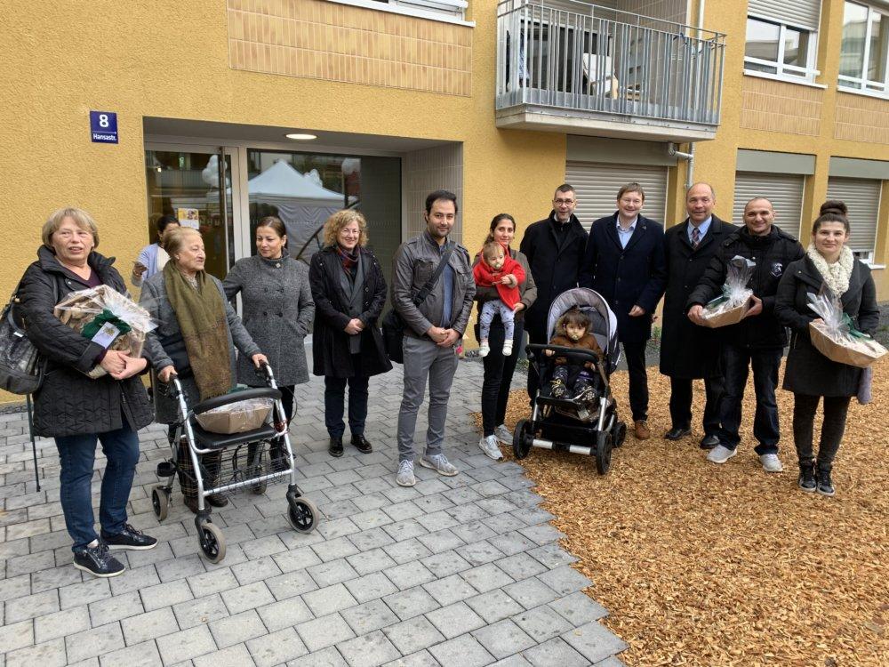 Bild_Bayernheim BayernHeim hat erstes Wohnungsbauprojekt für bezahlbaren Wohnraum verwirklicht Bayern Politik & Wirtschaft BayernHeim Dr. Hans Reichhart |Presse Augsburg