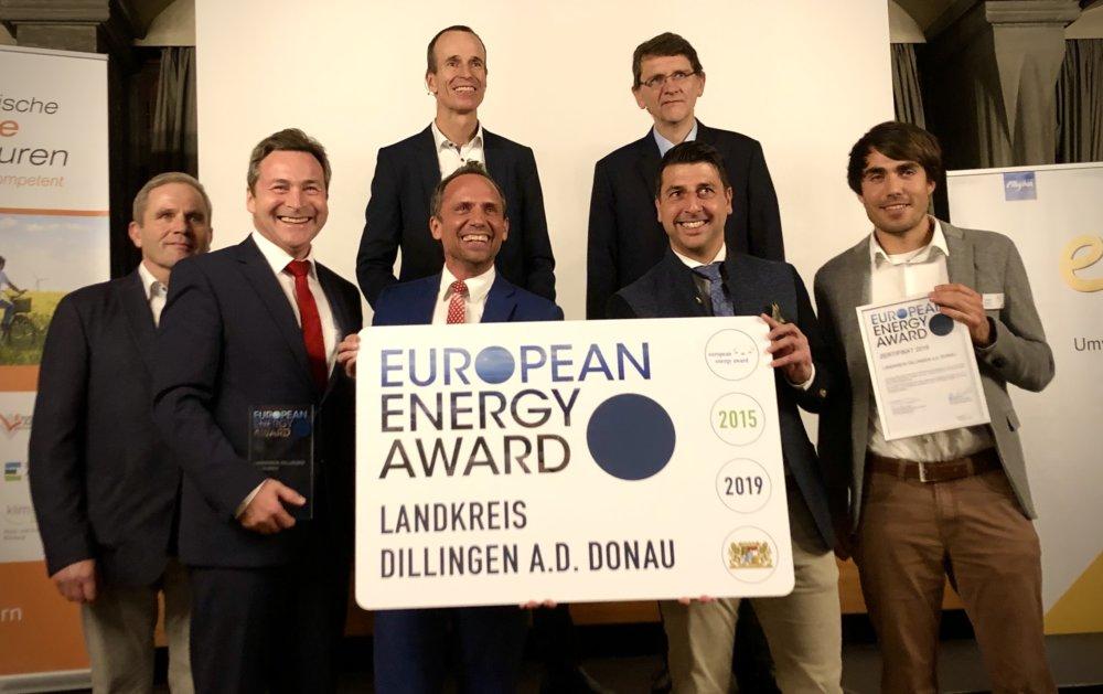 EEA_2019 Landkreis Dillingen a.d.Donau wurde mit dem European Energy Award ausgezeichnet Dillingen News Politik European Energy Award Landkreis Dillingen a.d.Donau Leo Schrell |Presse Augsburg