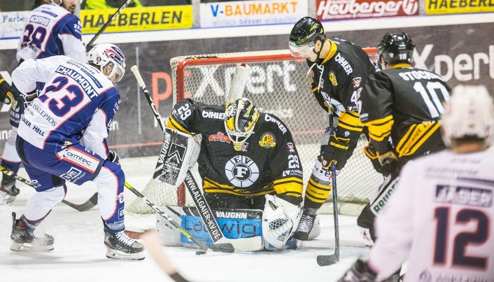 EVF-EVL EV Füssen enscheidet umkämpftes Allgäu-Derby gegen Lindau für sich Landkreis Lindau mehr Eishockey News Ostallgäu Sport EV Füssen EV Lindau Islanders |Presse Augsburg