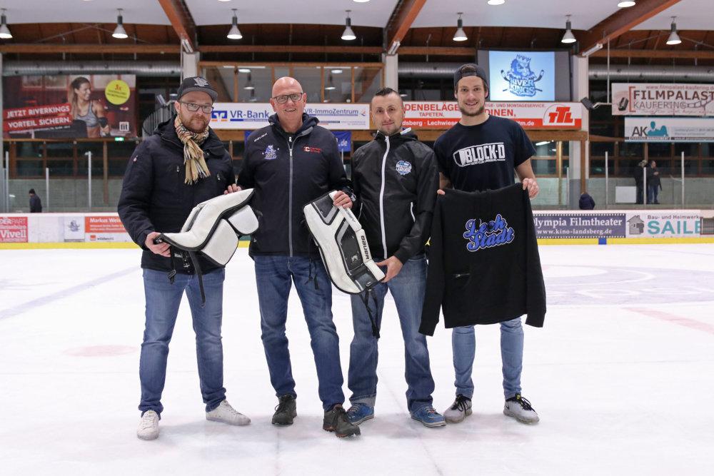 Fanszene_Schienen_8246 HC Landsberg mit 6 Punkte Wochenende – Abschied McPherson steht an Landsberg am Lech Sport HC Landsberg Riverkings |Presse Augsburg