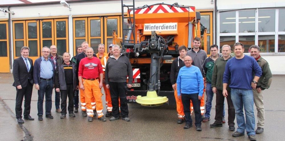 IMG_8393 Dillinger Kreisbauhof ist für Winterdienst gerüstet Dillingen News B16 Dillingen Leo Schrell Winterdienst |Presse Augsburg