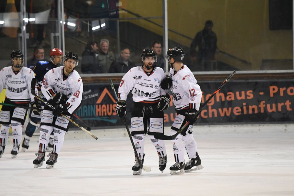 Trupp EHC Königsbrunn mit verdienter Niederlage in Schweinfurt Landkreis Augsburg mehr Eishockey News Sport EHC Königsbrunn Schweinfurt Mighty Dogs  Presse Augsburg