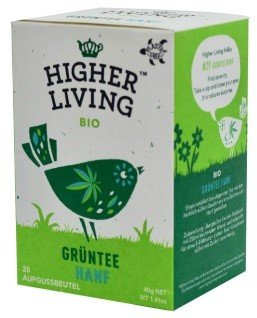 Higher Living Gruentee Hanf 20 Btl
