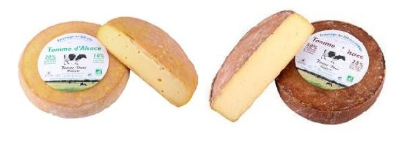 Tomme Dalsace Schnittkaese Aus Frankreich
