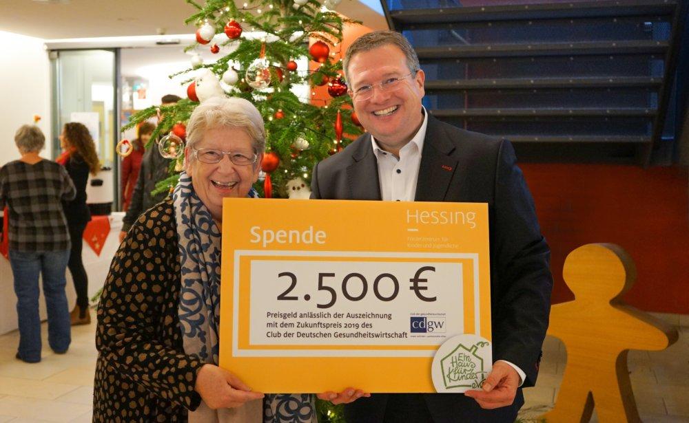 2.500 Euro Für Die Förderung Von Inklusion In Augsburg