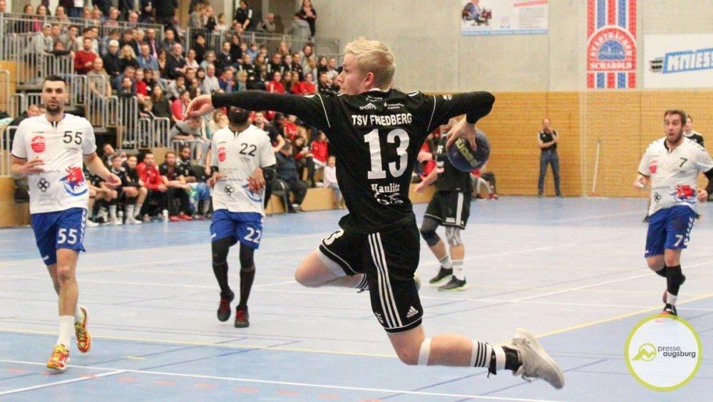 20191214_tsv-friedberg_11 Die weiteste Auswärtsfahrt der Saison - Friedberger Handballer müssen nach Lohr am Main Aichach Friedberg Handball News News Sport TSV Friedberg Handball TSV Lohr |Presse Augsburg