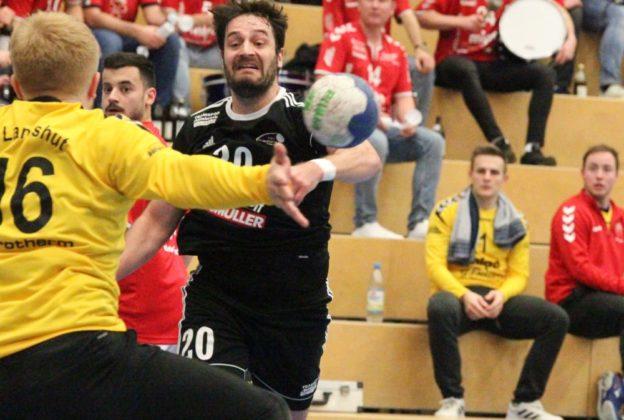 CL0I3144-624x420 Landshut war zu stark für Friedberg - TSV Handballer verlieren beim Tabellendritten deutlich Aichach Friedberg Handball News News Sport TG Landshut TSV Friedberg Handball  Presse Augsburg