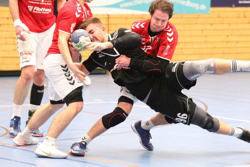 CL0I3491 Landshut war zu stark für Friedberg - TSV Handballer verlieren beim Tabellendritten deutlich Aichach Friedberg Handball News News Sport TG Landshut TSV Friedberg Handball  Presse Augsburg