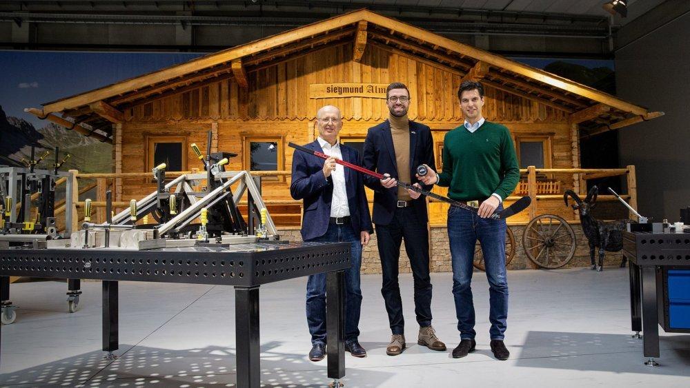 Gruppenfoto Panther Siegmund Hütte