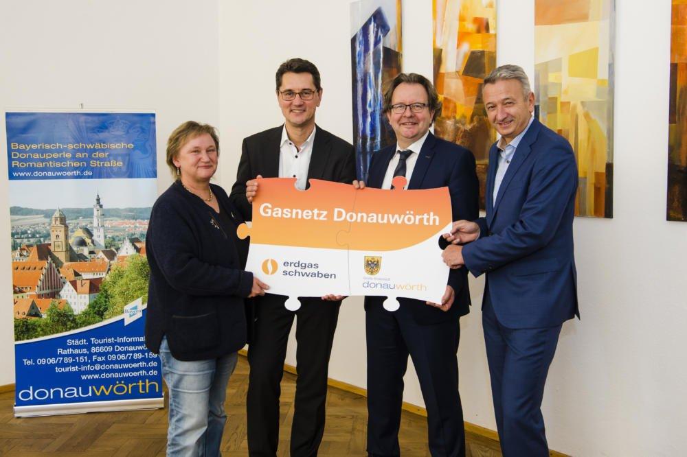 012920 Stadtwerke Donauwörth Und Erdgas Schwaben Schließen Sich In Neuer Netzgesellschaft Für Erdgas Zusammen