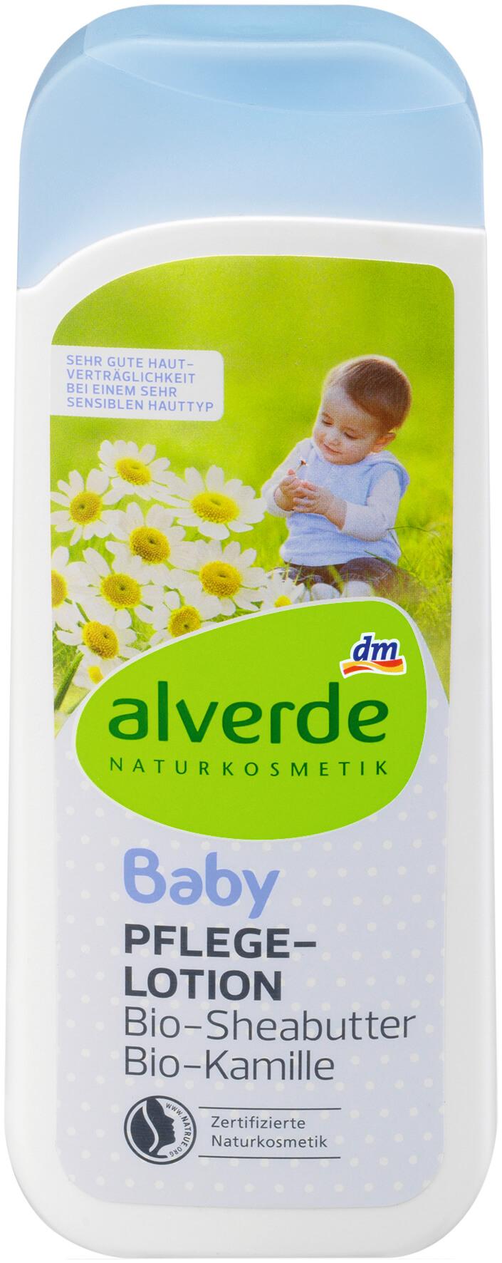 Produktrueckruf Alverde Baby Pflegelotion Bio Sheabutter Bio Kamille