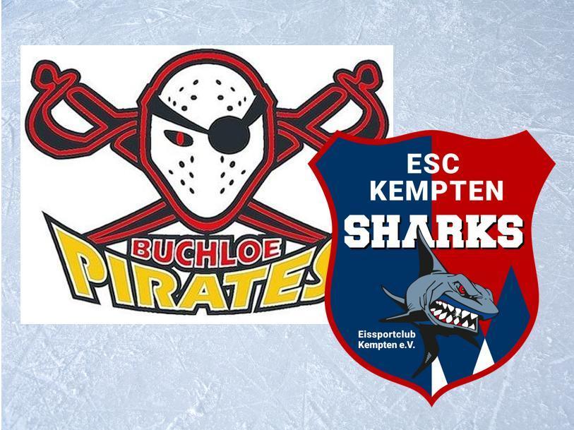 Unbenannt-4 Buchloer Piraten ringen die Kempten Sharks nieder mehr Eishockey Oberallgäu Ostallgäu ESC Kempten ESV Buchloe Pirates |Presse Augsburg