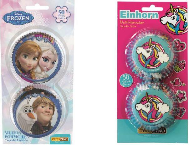 Produktrueckruf Muffinfoermchen Frozen Ean 4250448320451 Muffinfoermchen Einhorn Ean 4250448328662