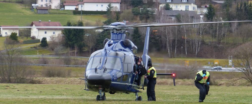 Ausstieg Helikopter
