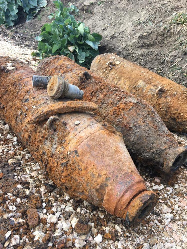 Blindgänger 110 Kg Splitterbombe Us Rotated