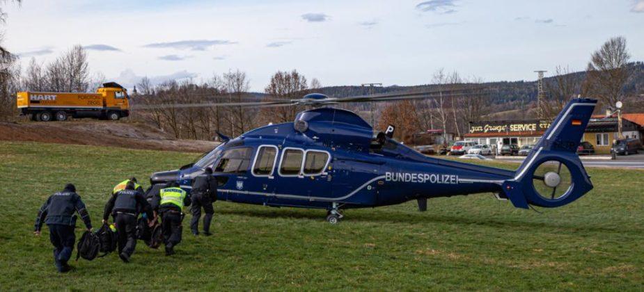 Einstieg Helikopter