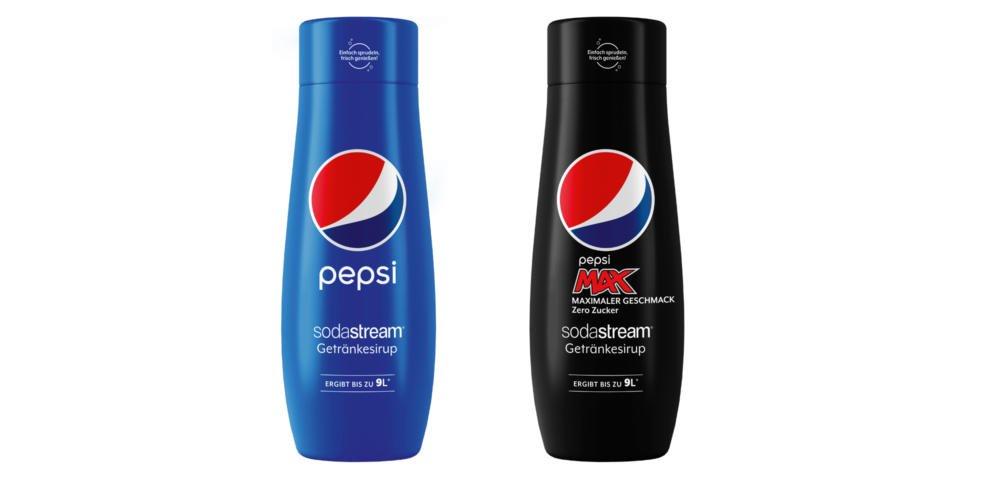Sodastream Pepsico Sirups