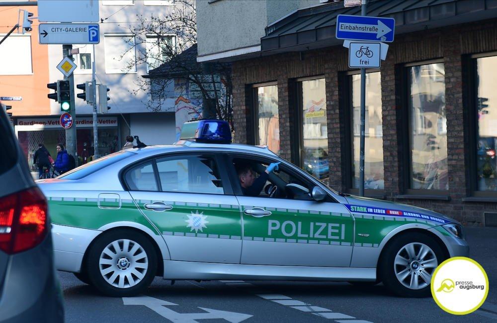 polizei_corona_002 Schwäbische Polizei muss weiterhin Verstöße gegen Allgemeinverfügung feststellen Aichach Friedberg Augsburg Stadt Dillingen Donau-Ries News Polizei & Co |Presse Augsburg