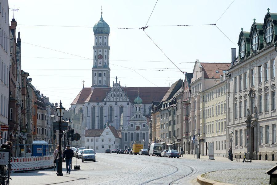 200404Em0058.Jpg Ausgangsbeschränkung Augsburg