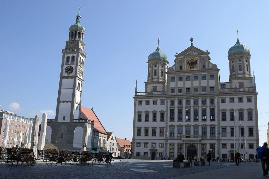 200404Em0144.Jpg Ausgangsbeschränkung Augsburg