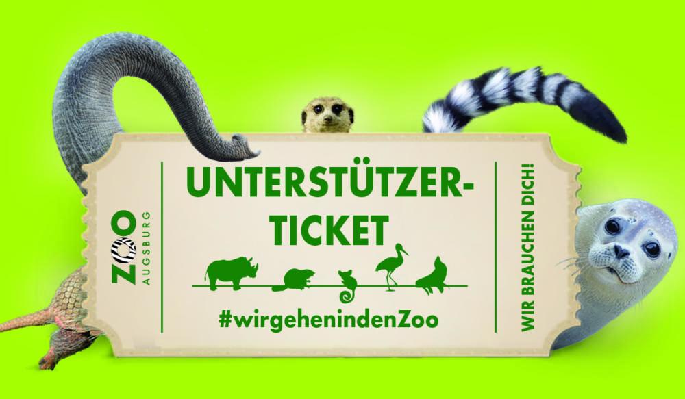 Collage_Tiere_Ticket_Presse Zoo Augsburg | Wegen fehlender Besucher wirbt Zoo mit Spendenaktion Augsburg Stadt News Newsletter Zoo Augsburg |Presse Augsburg