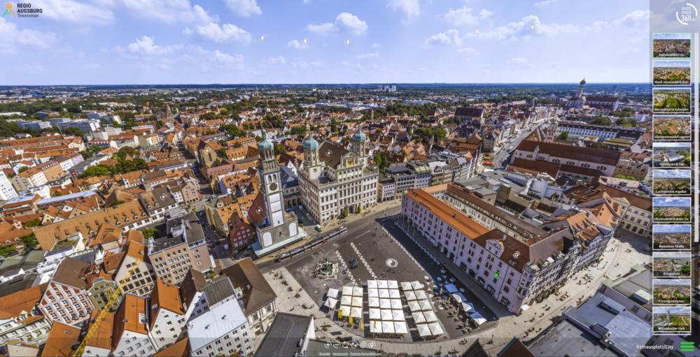 Startscreen-Augsburg-Tour-Bild-Gerhard-Ruff Digitale 360° Panorama-Tour | Augsburg von zu Hause erleben Augsburg Stadt Freizeit News |Presse Augsburg