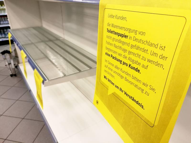 Absatz Von Toilettenpapier Geht Deutlich Zurueck
