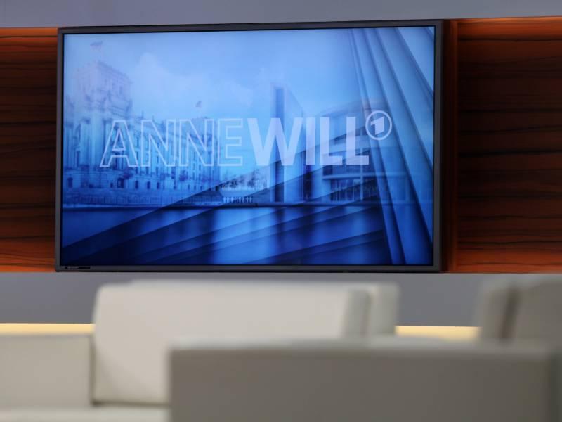 Anne Will Aendert Wegen Coronakrise Art Zu Moderieren