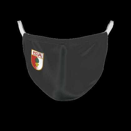 fca-mundschutzmaske-wappen-schwarz-420x420 Vorverkauf gestartet |FC Augsburg verkauft Behelfsmasken im Online-Shop Augsburg Stadt FC Augsburg News Newsletter Sport |Presse Augsburg