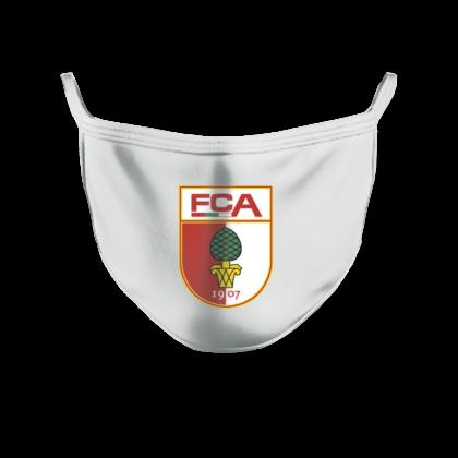fca-mundschutzmaske-wappen-weiss-420x420 Vorverkauf gestartet |FC Augsburg verkauft Behelfsmasken im Online-Shop Augsburg Stadt FC Augsburg News Newsletter Sport |Presse Augsburg