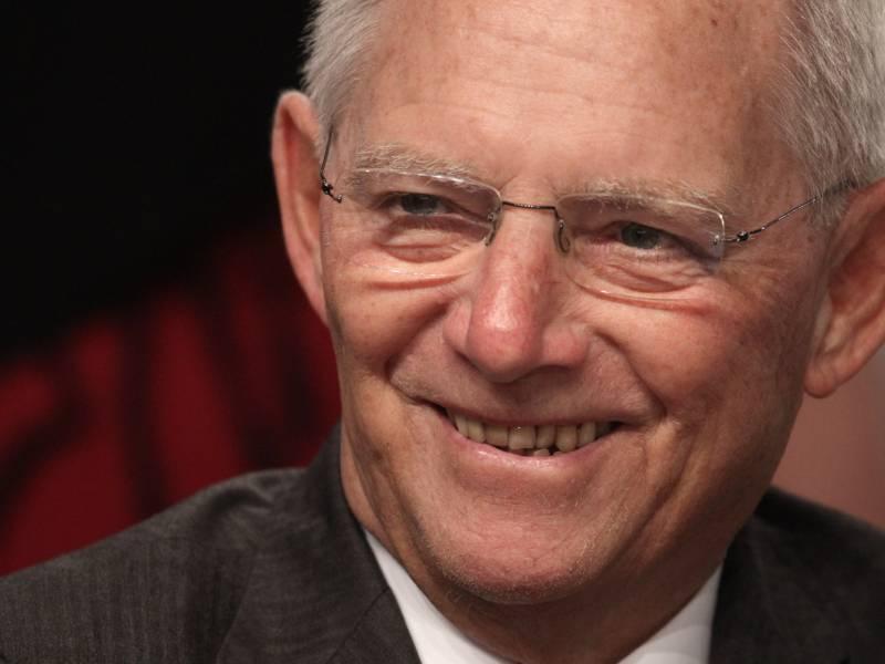 Schaeuble Sieht Eu Finanzminister Konferenz Zuversichtlich Entgegen