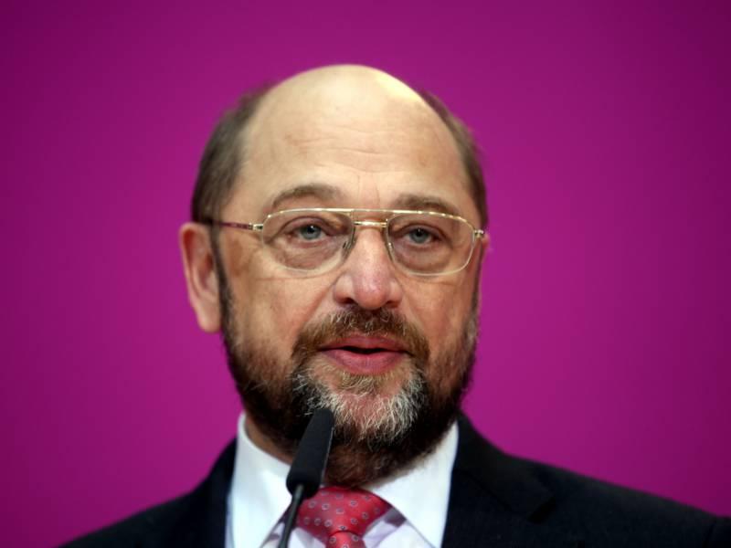 Schulz Rechnet Mit Einknicken Merkels Bei Corona Bonds