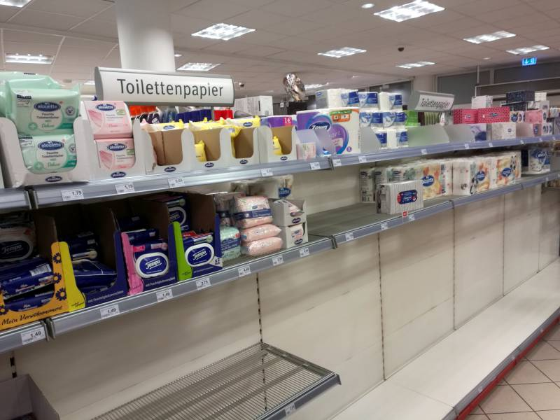 Studie Verbraucherausgaben Im Supermarkt In Coronakrise Verdoppelt