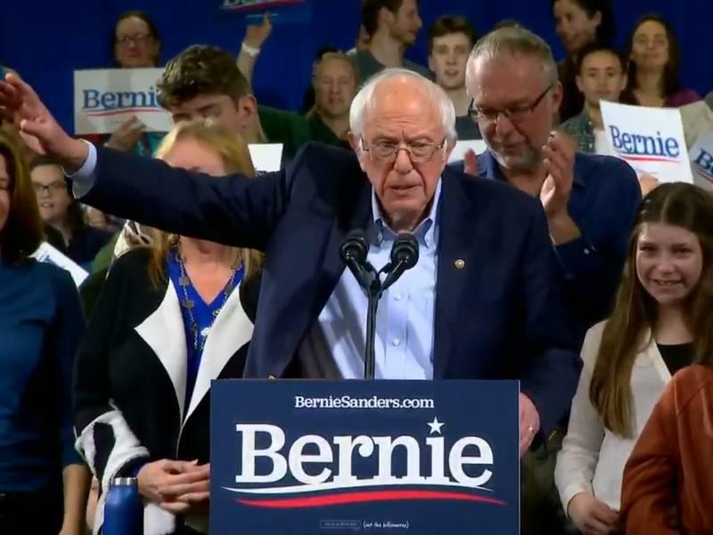 Us Demokrat Sanders Steigt Aus Praesidentschaftsrennen Aus