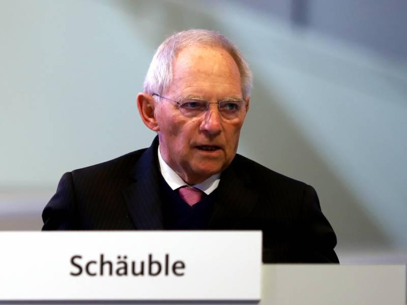 Wolfgang Boehmer Sieht Schaeuble Aeusserung Kritisch