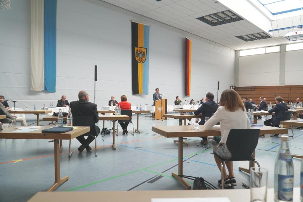 051320 Konstituierende Sitzung Stadtrat Donauwörth