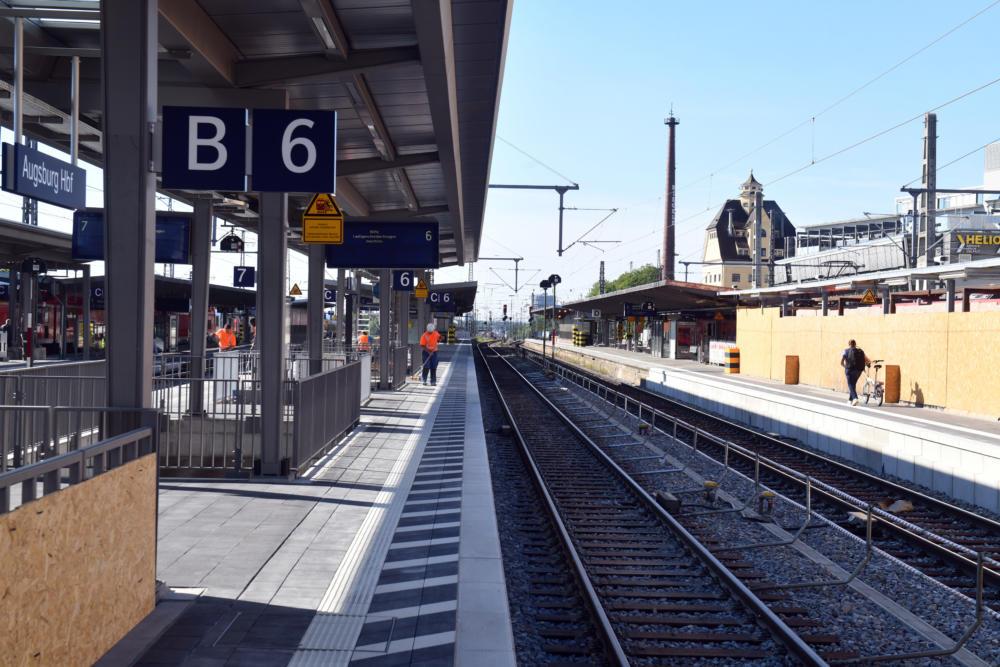 2020 05 19 Inbetriebnahme Bahnsteig D