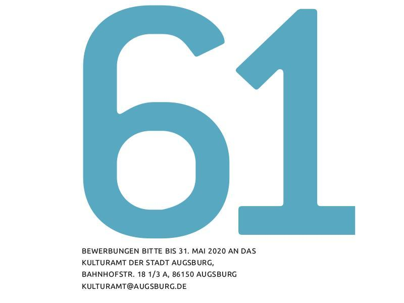 61.Kunstfoerderpreis Augsburg
