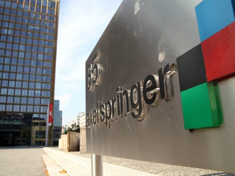 Axel Springer Chef Warnt Vor China