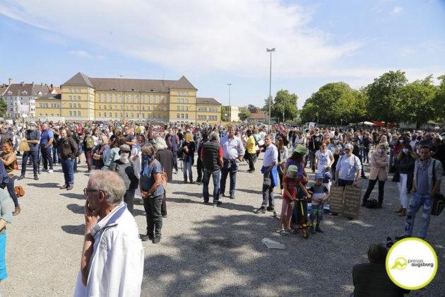 Demo Augsburg Corona103
