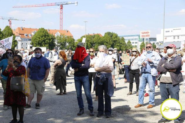 Demo Augsburg Corona119