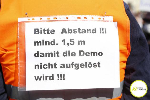 Demo Augsburg Corona149