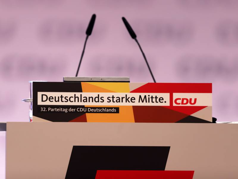 Forsa Union Legt Zu Fdp Schwaecher