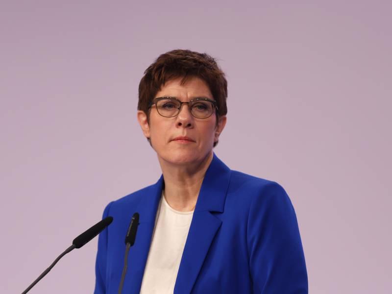 Kramp Karrenbauer Schliesst Cdu Sonderparteitag Aus