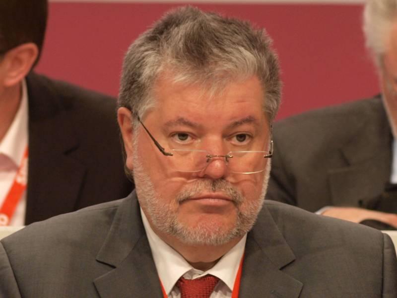 Kurt Beck Gibt Vorsitz Der Friedrich Ebert Stiftung Auf