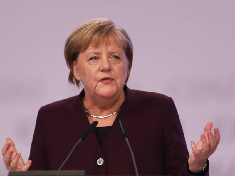 Merkel Ueber Ramelows Vorstoss Botschaften Waren Etwas Zweideutig 1
