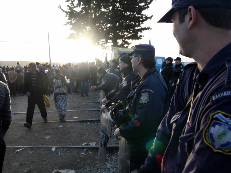 Mueller Griechische Fluechtlingslager Sind Schande Fuer Europa
