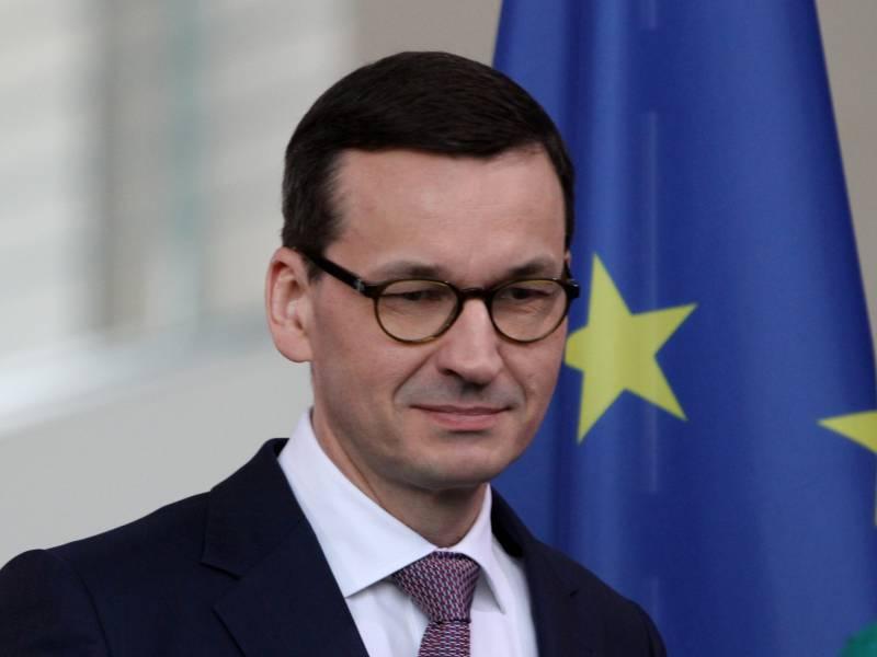Polens Regierungschef Fordert Neuen Europaeischen Marshall Plan